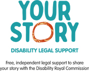 Your Story Disability Legal Support logo