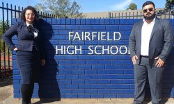 Lawyers at Fairfield High School